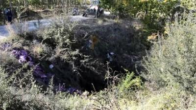Burdur'da traktör devrildi: 1 ölü, 2 yaralı