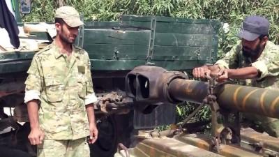 rejim karsiti - Cephe hatlarındaki ağır silahların çekilmesi tamamlandı - İDLİB