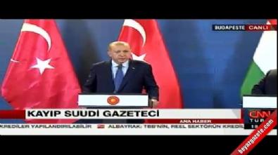 Erdoğan: Suudi Arabistan iddiayı ispatlamak zorunda