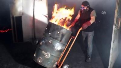 Fındık kabuğundan mangal kömürü üretiyorlar - ORDU
