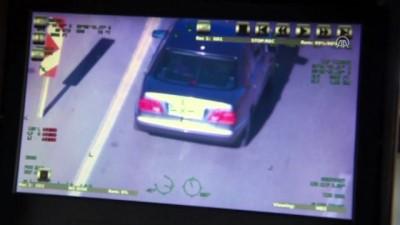 Polisin havadan trafik denetimleri sürüyor - ANKARA
