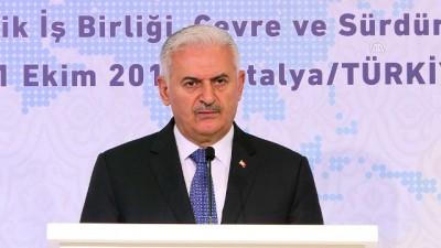 TBMM Başkanı Yıldırım, Avrasya Meclis Başkanları 3. Toplantısı resepsiyonunda konuştu - ANTALYA