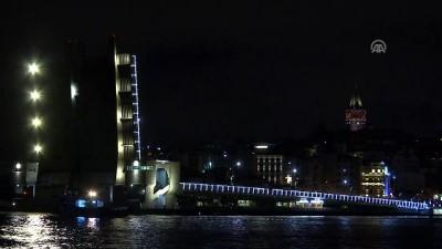 Galata Köprüsü'nde bakım çalışması - İSTANBUL