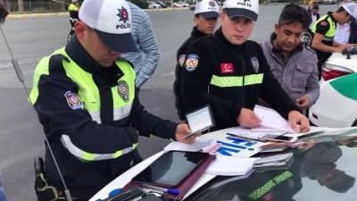 ozel harekat polisleri - İstanbul'da drone ile trafik denetimi
