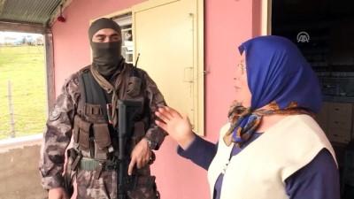 PÖH'ler Karadeniz'de teröristlerin izini sürüyor (2) - GÜMÜŞHANE