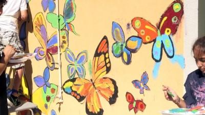 Rus ressam Chernykh, serebral palsili çocuklar için çizdi - MUĞLA