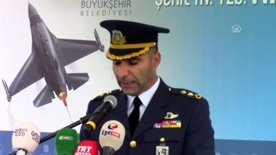 Şehit Hava Pilot Yüzbaşı Nail Erdoğan anısına heykel - BALIKESİR