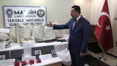 247 kilogram patlayıcı ele geçirildi - İl Emniyet Müdürü Onar - MARDİN