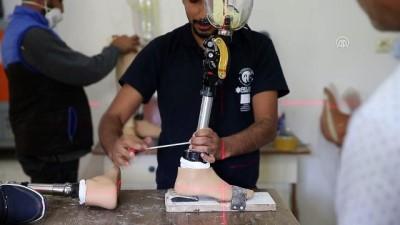 6 bin 500 Suriyeliye el ve bacak protezi takıldı - HATAY