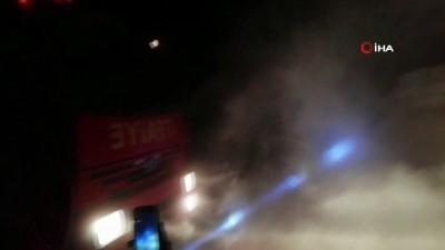 Ağrı'da korkutan trafo patlaması