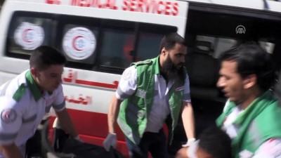 Gazze'de 'olağanüstü durum' tatbikatı