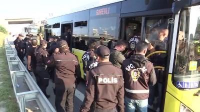 İstanbul polisi Galatasaray-Fenerbahçe derbisine hazır - İSTANBUL