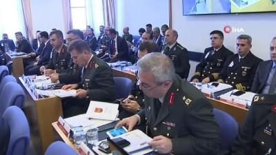 Milli Savunma Bakanı Hulusi Akar: 'Münbiç yol haritası ve güvenlik prensipleri doğrultusunda, Türkiye ve ABD Silahlı Kuvvetleri unsurlarınca yürütülen ortak eğitimler tamamlanmıştır'