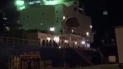 Muz yüklü gemide kokain ele geçirildi - MERSİN