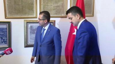 Bakan Pakdemirli Atatürk'ün karargahında - ANKARA