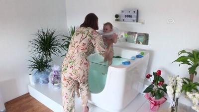sahit - Bebeklerin 'SPA ve masaj' keyfi - BURSA