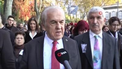 sahit -  Beşiktaş'ta 300 metrelik dev Türk Bayrağı'yla binler Dolmabahçe'ye yürüdü