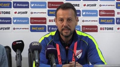 teknik direktor - Boluspor - Denizlispor maçının ardından - BOLU
