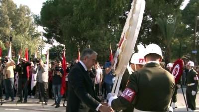 Büyük Önder Atatürk KKTC'de anıldı - LEFKOŞA