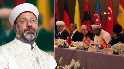 Madrid Barış Konferansı'nda dini inançların ve manevi değerlerin önemi vurgulandı