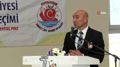 Minikler hem Ata'larını andı hem de çocuk belediye başkanını seçti