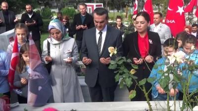 Şehit Dinçer Ersoy ölümünün 6'ncı yılında mezarı başında anıldı