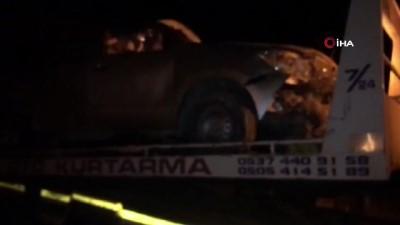 Şoförünün kalp krizi geçirdiği pikap takla attı: 1 ölü, 4 yaralı