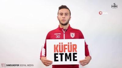 Yılport Samsunspor 'küfre' savaş açtı