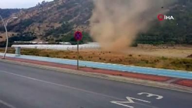 Antalya'da hortum dehşeti