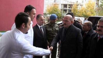 Bakan Soylu'dan patlamada yaralanan askerlere ziyaret - HAKKARİ