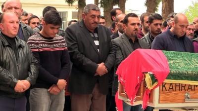 Cesedi bulunan Fatma Nur Karaoğlan'ın cenaze namazı - KAHRAMANMARAŞ