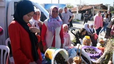 Kadınlar turşu ve reçelleriyle yarıştı - MUĞLA