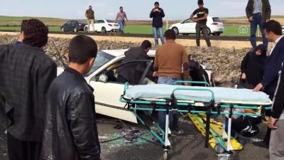 Trafik kazası: 4 yaralı - ŞANLIURFA