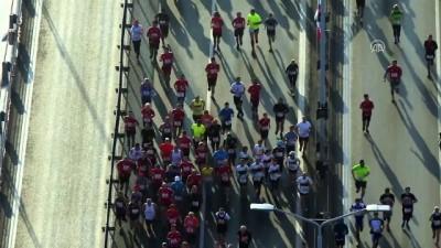 Vodafone 40. İstanbul Maratonu başladı (3) - İSTANBUL