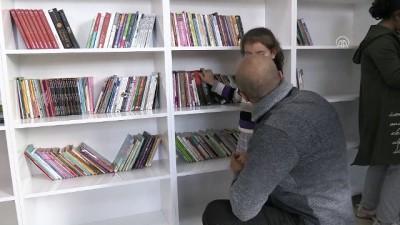 kutuphane - Yitirdiği oğlunun adını kütüphanede yaşatıyor - KARS
