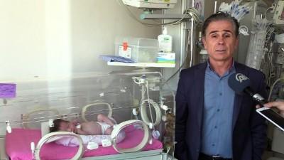 23 günlük bebeğe kasıktan kalp ameliyatı - İZMİR