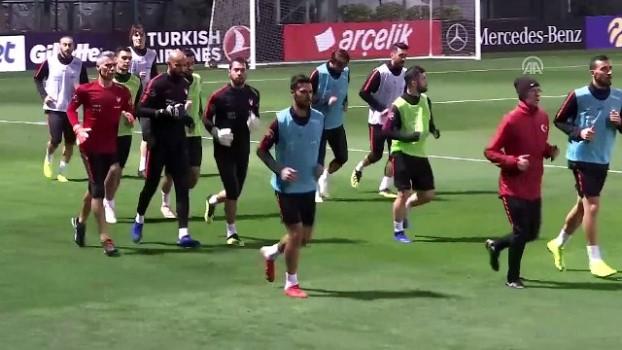 teknik direktor - A Milli Futbol Takımı'nda mesai başladı - İSTANBUL