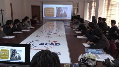 AFAD'dan lise öğrencilerine eğitim - ELAZIĞ