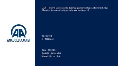 Dikili'de göçmen teknesinin battığı ihbarı (3) - İZMİR