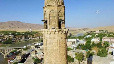 Hasankeyf'teki 609 yıllık Er-Rızk Camisi taşınıyor -BATMAN