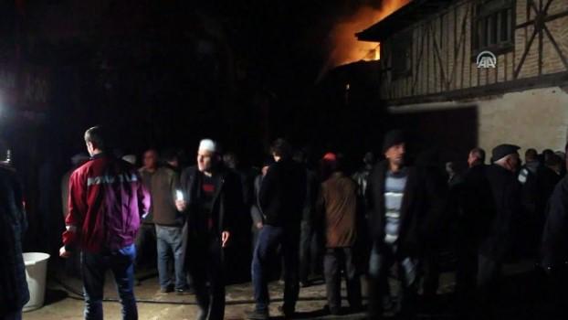 yangina mudahale - Kastamonu'da yangın - KASTAMONU