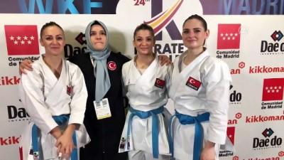 Millilerden Dünya Karate Şampiyonası'nda 6 madalya - MADRİD