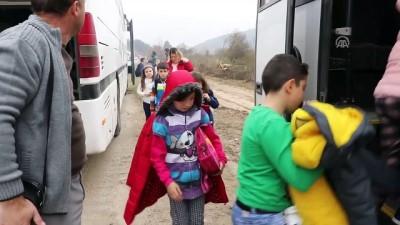 Öğrencileri taşıyan gezi otobüsleri kaza yaptı: 11 yaralı - BOLU