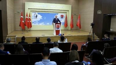 Öztrak: '(Kılıçdaroğlu-Türk görüşmesi) Karşı tarafı dinlemeye dönük bir görüşme olduğunu biliyorum' - ANKARA