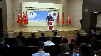 Öztrak: '(Mansur Yavaş'ın adaylığı) İsim belirleme yetkisi parti meclisinin' - ANKARA