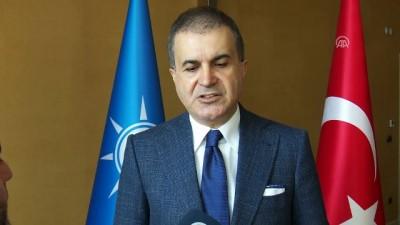 AK Parti Sözcüsü Çelik: '(İsrail'in Gazze'ye saldırıları) AK Parti olarak bu saldırganlığı en güçlü şekilde kınıyoruz' - ANKARA