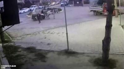 At arabalı hırsızlar güvenlik kamerasında - BALIKESİR