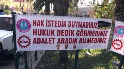 Aydın'da otobüs şoförlerinin haksız yere işten çıkartıldığı iddiası