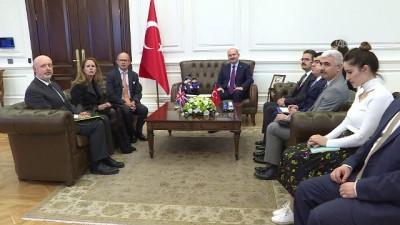 Bakan Soylu İngiltere'nin Ankara Büyükelçisi Chilcott'u kabul etti - ANKARA