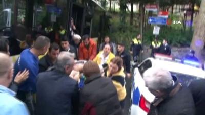 trol -  Beşiktaş'ta otobüsün kaza anı kamerada